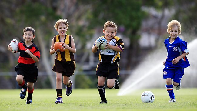 Why should children play organized sports