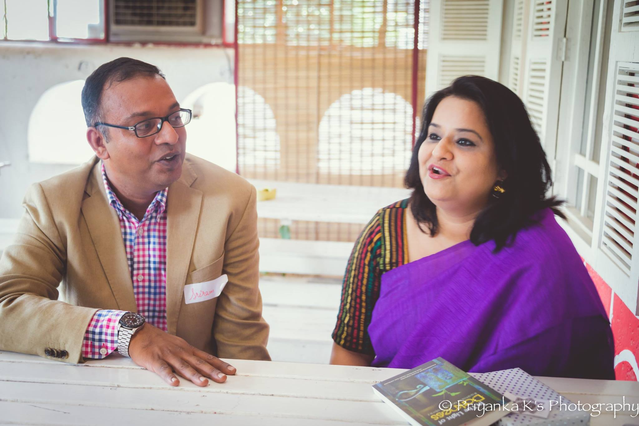 Author Sriram Subramanian's Rain at LitTrio – A GurgaonMoms Book Club Event