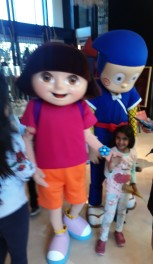 When Dora and Ninja Hattori came to play