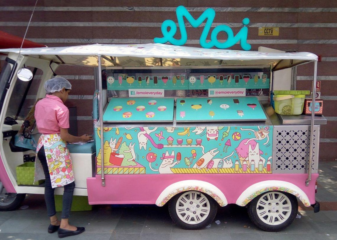 eMoi: An icecream tuk tuk with a difference
