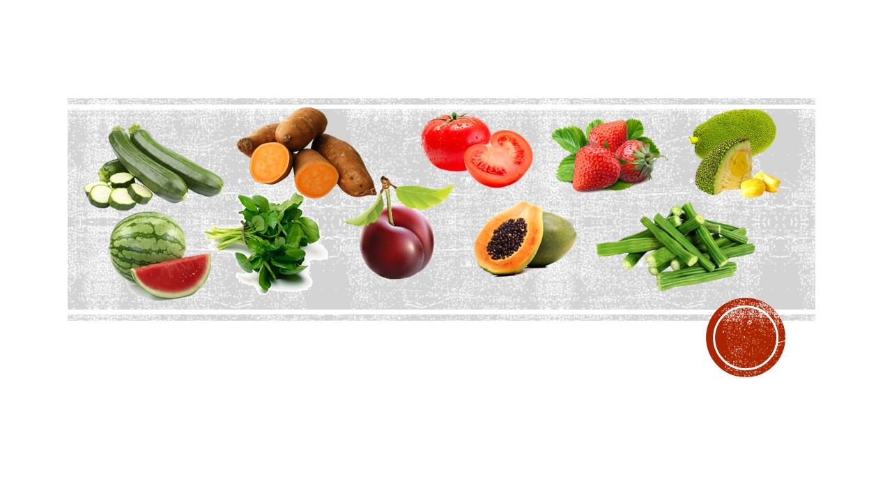 A-Z of Healthy Living with these Vegetables & Fruits