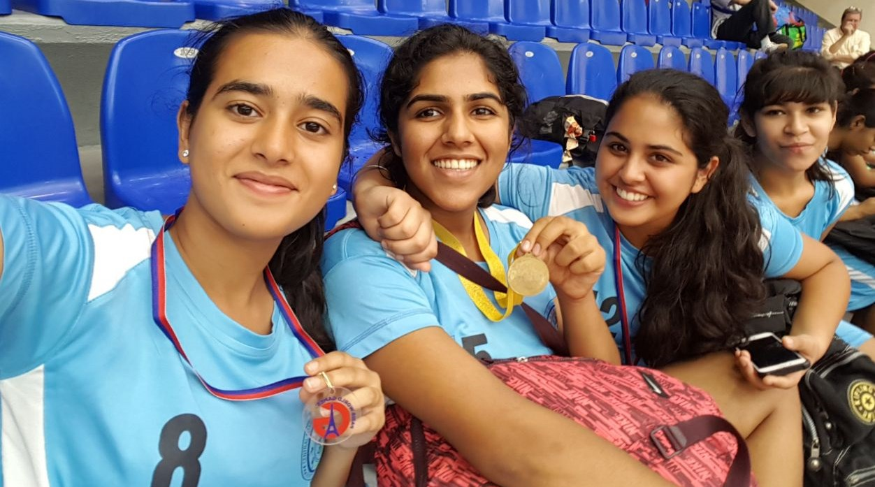 Gurgaon Girls Shine at the PARIS WORLD GAMES