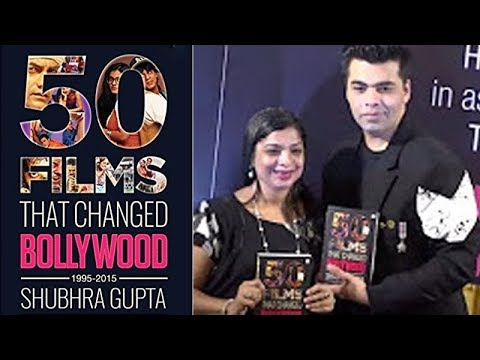 '50 Films That Changed Bollywood, 1995-2015′ by Shubhra Gupta: A Gurgaonmoms Book Club Event