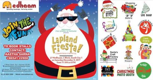 Medhaam's Lapland Fiesta (Christmas Carnival) @ Medhaam Preschool & Day Care