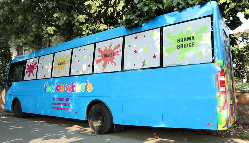 Fun on Wheels -The New Bus in Town for Endless Fun and Frolic
