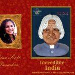 Incredible India - An International Cake Collaboration by Tina Scott Parashar