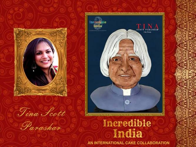 Incredible India – An International Cake Collaboration by Tina Scott Parashar