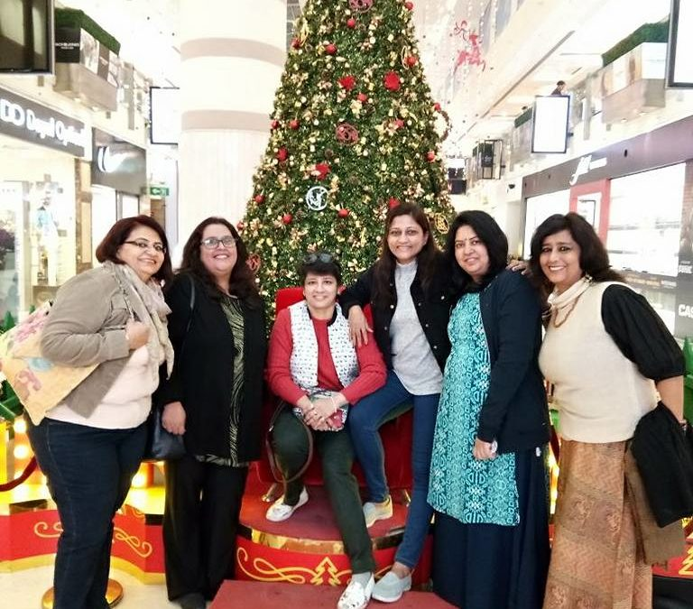 GurgaonMoms Enjoy The Western Cuisine Trek at DLF PLACE SAKET