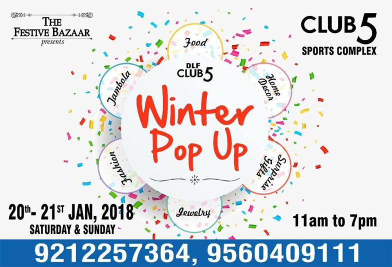 The Winter Pop-Up @  DLF Club5