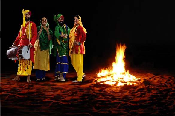 Lohri Celebrations In Gurgaon