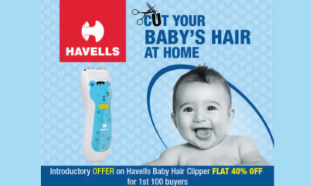 Cut your baby's hair at home