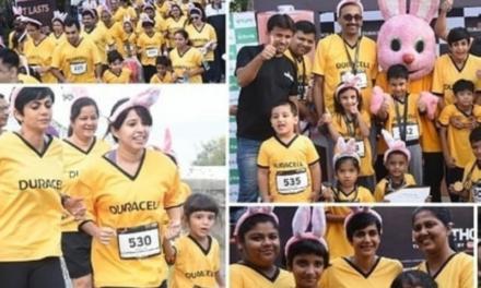 "Duracell's ""Durathon Family Run"" Comes To Delhi"