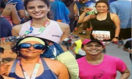 GurgaonMoms at the Tata Mumbai Marathon 2018