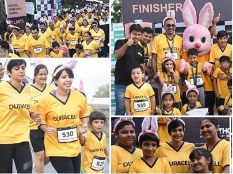 "Duracell's ""Durathon Family Run"" Comes To Delhi"