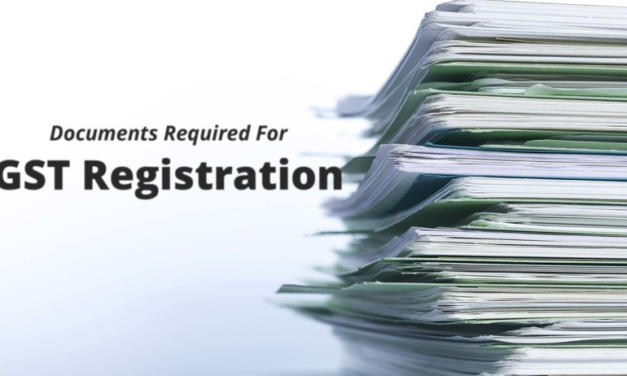Documentation for GST Registration
