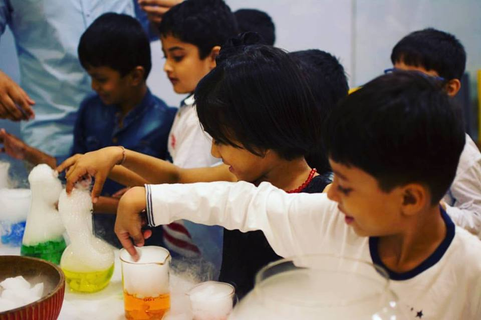 WonderClass- Fueling Imagination with Hands-on Science