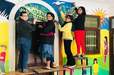 When Some Moms Got Together to Create Magic in a Community Library