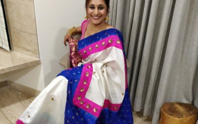 How A Mom's Love Affair With Sarees Makes Her Redesign Them