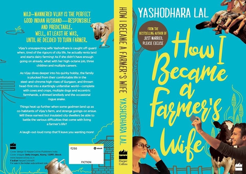 "Book Launch- ""How I became a Farmer's Wife"" written by Yashodhara Lal"