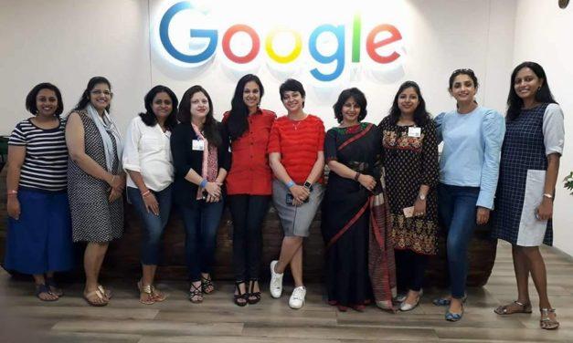 #MomsDayOutAtGoogle Bengaluru