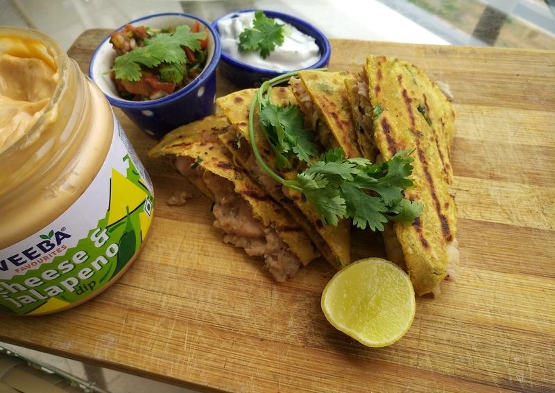 Veebadillas- My take on Quesadillas