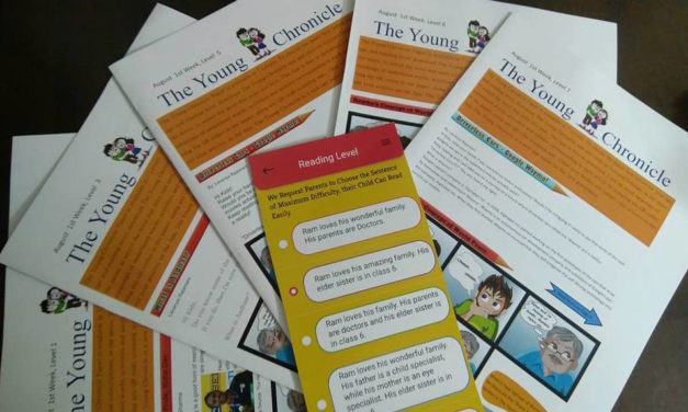 A Newspaper for Children With Different Reading Levels