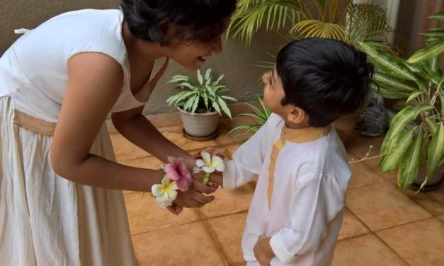 How These Kids Celebrated the Bond Of Love the Eco-Friendly Way