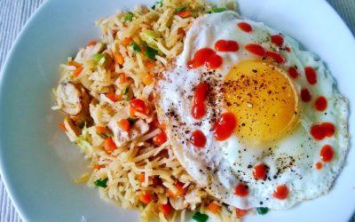 Recipe : Sriracha Fried Rice