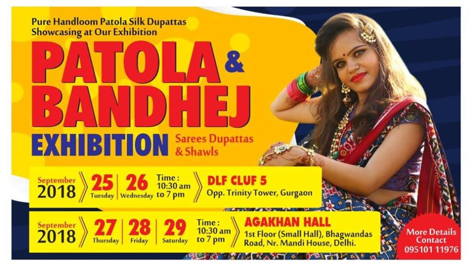 Patola & Bandhej Exhibition @ DLF Club 5