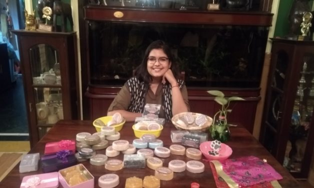 Aditi Prakash: A Young Gurganoite Spreading Smiles with Her Natural Handmade Soaps