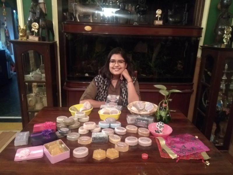 Aditi Prakash: A Young Gurganoite Spreading Smiles with Her Natural Handmade Soaps