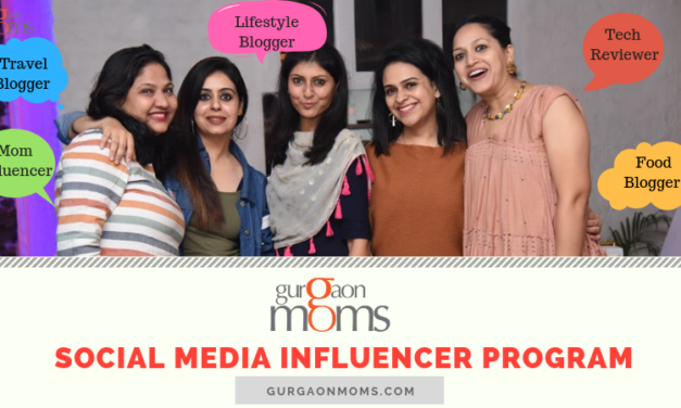 GurgaonMoms' Social Media Influencer Program