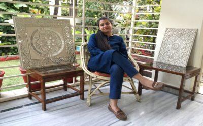 Chitra Shekhar:A Self-taught Teacher of Lippan Kaam