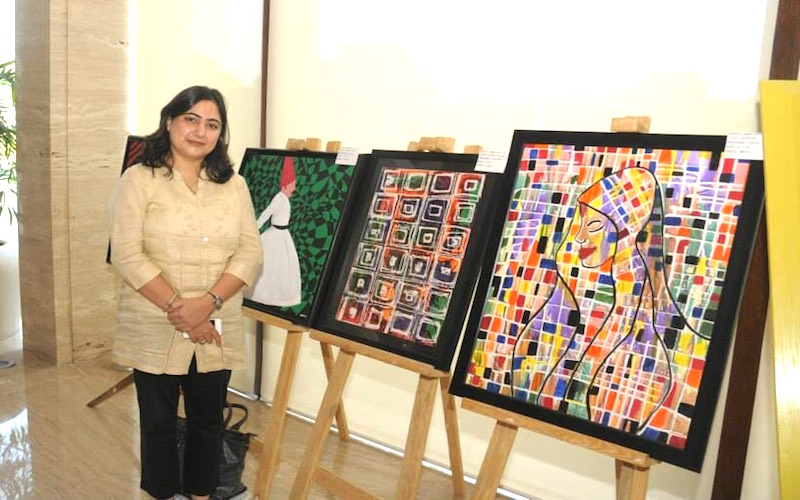 Shruti Vij: A Designer to a Self-Taught Artist Entrepreneur