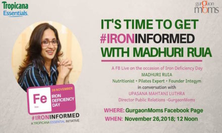 FB Live with Madhuri Ruia on Iron Deficiency Day