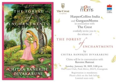 Book Launch : Chitra Banerjee Divakaruni @  DLF The Crest