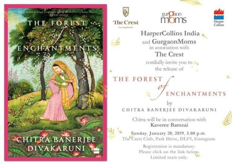 Book Launch : Chitra Banerjee Divakaruni