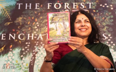 Chitra Banerjee Divakaruni : Gurgaon Book launch