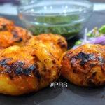 Tandoori Paneer Momos with Veeba Tandoori Mayonnaise