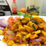 Corn Chaat with Teriyaki Stir Fry Sauce