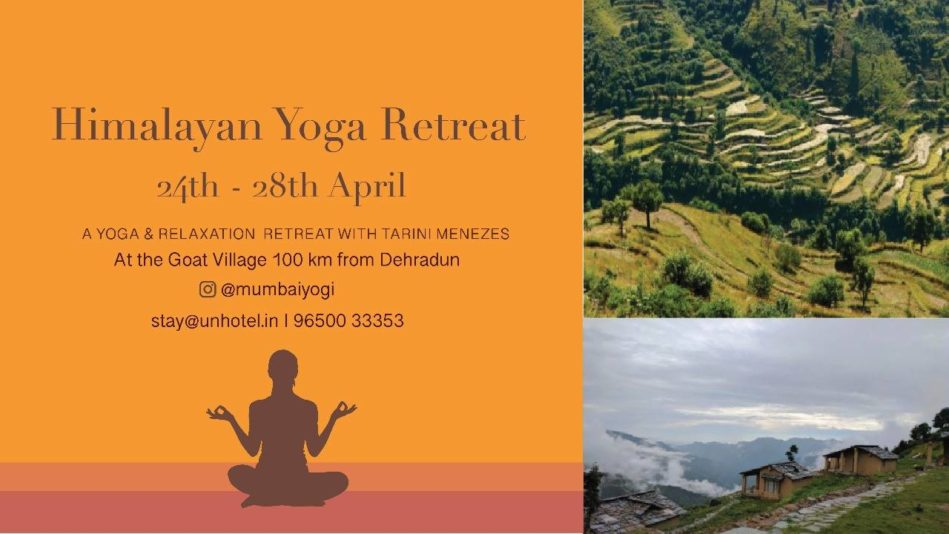 Yoga Retreat in Goat Village, Dehradun