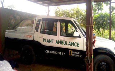 Gurgaon Gets Its First Plant Ambulance!