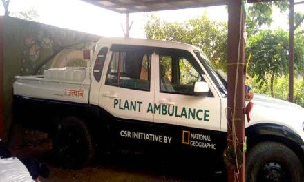 Gurgaon Gets Its First Plant Ambulance!