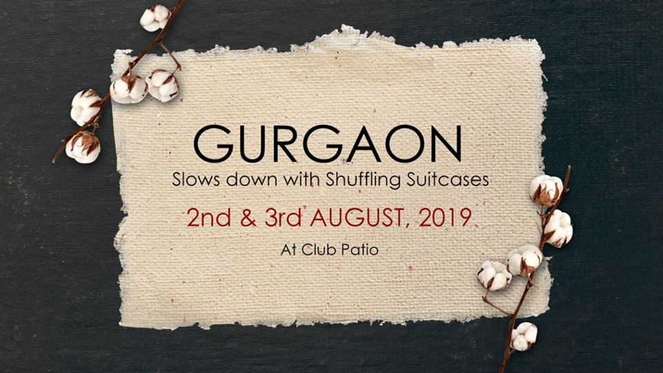 Gurgaon goes Slow with Shuffling Suitcases @ Club Patio