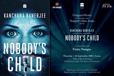 Kanchana Banerjee :A GurgaonMoms Book Club event @ Vapour Bar Exchange