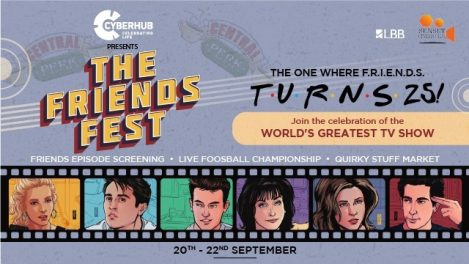 Open Air Cinema - FRIENDSFest @ DLF CyberHub