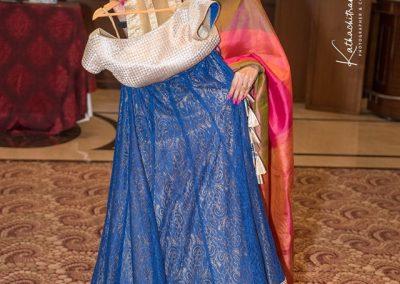Winning a perfect attire by Study by Janak