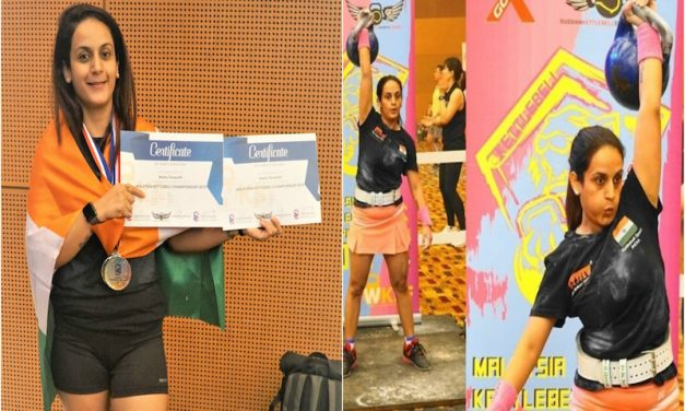 A Determined Mom Wins the Malaysian KettleBell Championship