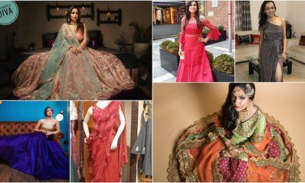 Wedding Fashion: Ensembles designed by our Mom Designers