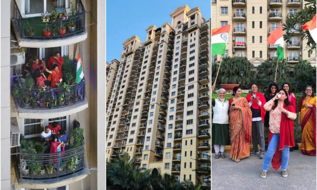 Gurugram Condominium Residents Battle Negativity with Mass Chanting